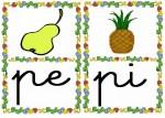 pe pi 150x107 Tarjetas silábicas para trabajar en Educación Infantil vocabulario silabas recursos para maestros recursos para el aula RECURSOS EDUCATIVOS recursos didacticos letras leer lectura fichas de lengua escuela en la nube educacion infantil blog educativo aprender a leer