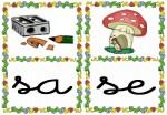 sa se 150x104 Tarjetas silábicas para trabajar en Educación Infantil vocabulario silabas recursos para maestros recursos para el aula RECURSOS EDUCATIVOS recursos didacticos letras leer lectura fichas de lengua escuela en la nube educacion infantil blog educativo aprender a leer