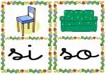 si so 150x106 Tarjetas silábicas para trabajar en Educación Infantil vocabulario silabas recursos para maestros recursos para el aula RECURSOS EDUCATIVOS recursos didacticos letras leer lectura fichas de lengua escuela en la nube educacion infantil blog educativo aprender a leer