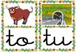 to tu 150x105 Tarjetas silábicas para trabajar en Educación Infantil vocabulario silabas recursos para maestros recursos para el aula RECURSOS EDUCATIVOS recursos didacticos letras leer lectura fichas de lengua escuela en la nube educacion infantil blog educativo aprender a leer
