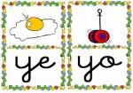 ye yo 150x105 Tarjetas silábicas para trabajar en Educación Infantil vocabulario silabas recursos para maestros recursos para el aula RECURSOS EDUCATIVOS recursos didacticos letras leer lectura fichas de lengua escuela en la nube educacion infantil blog educativo aprender a leer