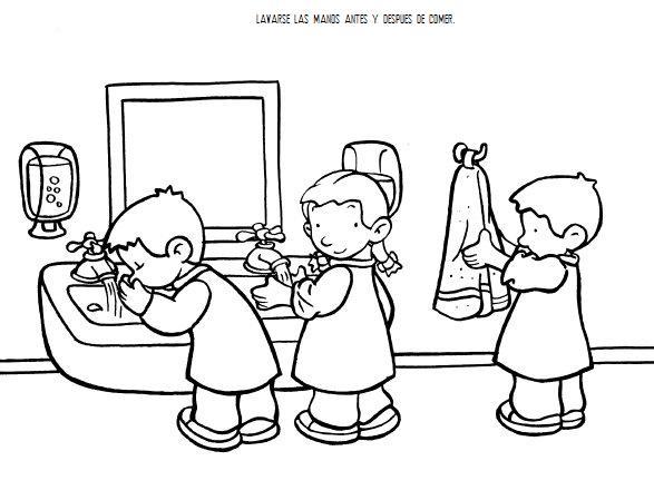Reglas dentro del salon de clases para colorear - Imagui