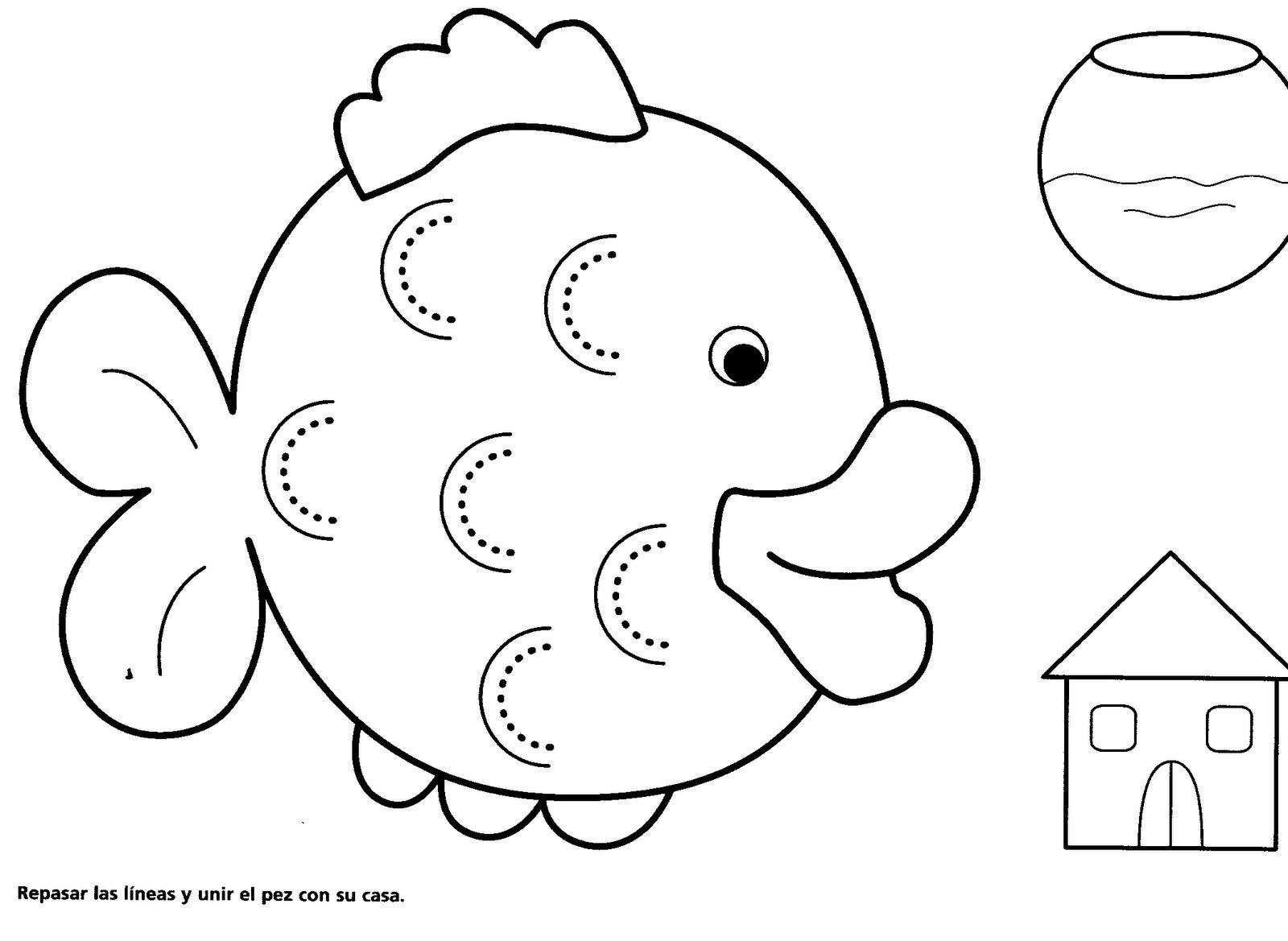 Dibujos Para Colorear Para Ninos De 0 3 Anos