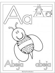 letra a, vocal, lectoescritura, grafomotricidad