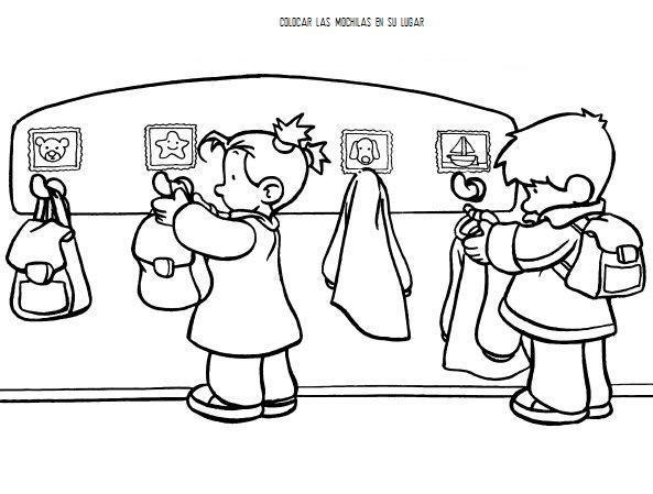 Dibujos Para Aprender A Colorear: Normas En El Aula Para Colorear Y Aprender