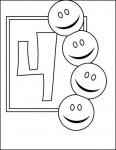 04numeros colorear 116x150 Fichas de números para contar y colorear recursos para maestros recursos para el aula RECURSOS EDUCATIVOS recursos didacticos numeros para colorear Numeros fichas para contar escuela en la nube educacion infantil dibujos para colorear blog educativo