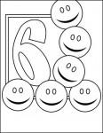 06numeros colorear 116x150 Fichas de números para contar y colorear recursos para maestros recursos para el aula RECURSOS EDUCATIVOS recursos didacticos numeros para colorear Numeros fichas para contar escuela en la nube educacion infantil dibujos para colorear blog educativo