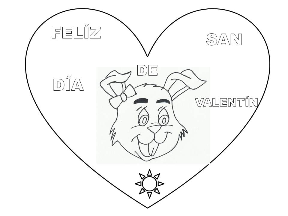 Excepcional Dibujos Para Colorear Gratis Día De San Valentín 2 ...