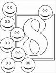 08numeros colorear 116x150 Fichas de números para contar y colorear recursos para maestros recursos para el aula RECURSOS EDUCATIVOS recursos didacticos numeros para colorear Numeros fichas para contar escuela en la nube educacion infantil dibujos para colorear blog educativo