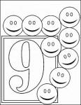 09numeros colorear 116x150 Fichas de números para contar y colorear recursos para maestros recursos para el aula RECURSOS EDUCATIVOS recursos didacticos numeros para colorear Numeros fichas para contar escuela en la nube educacion infantil dibujos para colorear blog educativo