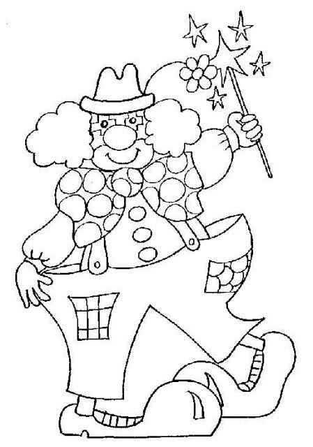 Actividades de carnaval, dibujos colorear, carnaval colorear
