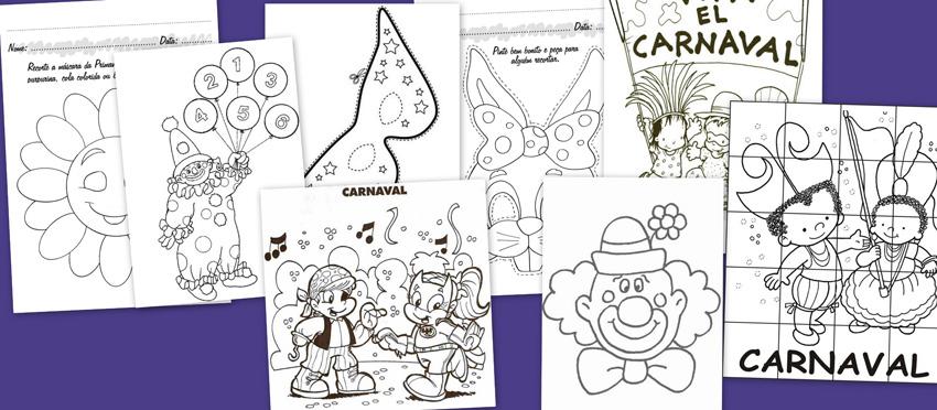 Carnaval Actividades Para Estos Dias Escuela En La Nube