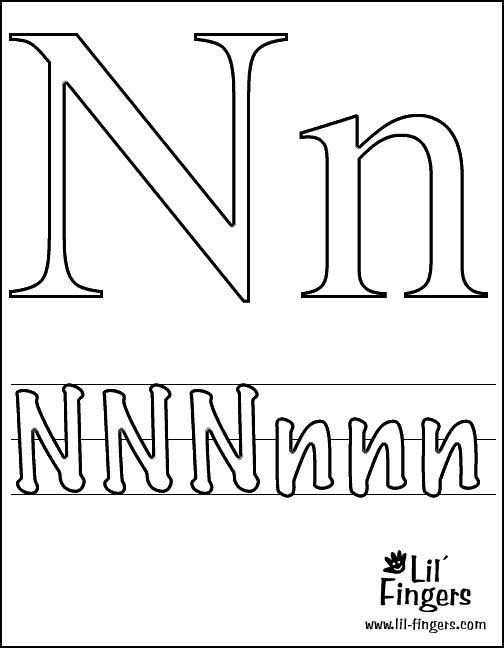 ... ://www.escuelaenlanube.com/letras-para-colorear/letras_colorear14-1
