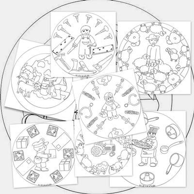 Mandalas de oficios