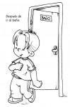 Salud e Higiene03 99x150 Dibujos para colorear: Higiene en los niños salud niños recursos para maestros recursos para el aula RECURSOS EDUCATIVOS recursos didacticos lavarse la manos higiene niños escuela en la nube educacion infantil dibujos para colorear blog educativo