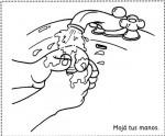 Salud e Higiene11 150x124 Dibujos para colorear: Higiene en los niños salud niños recursos para maestros recursos para el aula RECURSOS EDUCATIVOS recursos didacticos lavarse la manos higiene niños escuela en la nube educacion infantil dibujos para colorear blog educativo