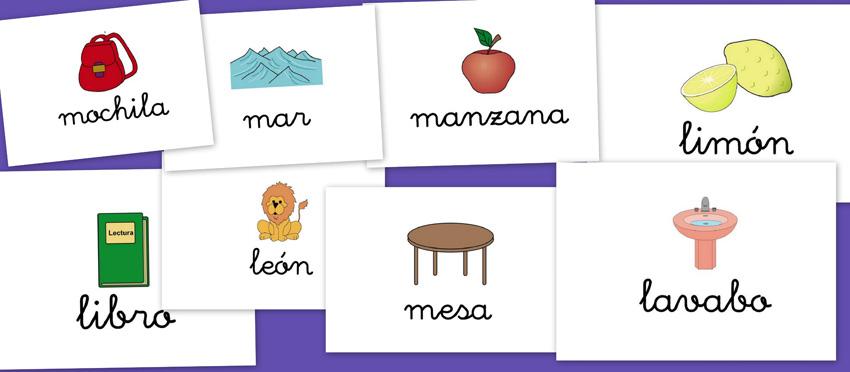 Imágenes para repasar el vocabulario