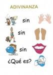 adivinanzas, palabras escondidas, pictogramas, juegos de lengua