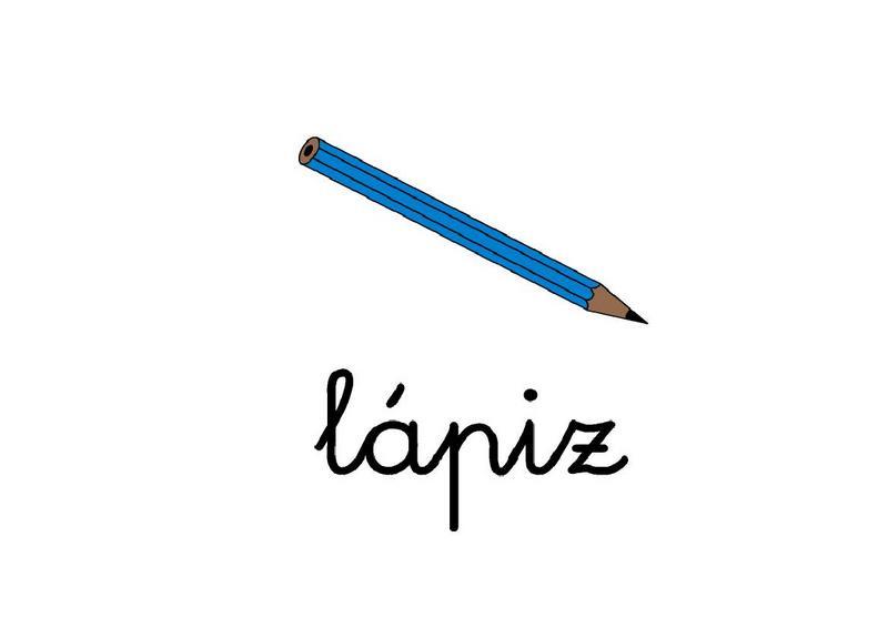 Vocabulario Con Imágenes Letras L Y M Escuela En La Nube