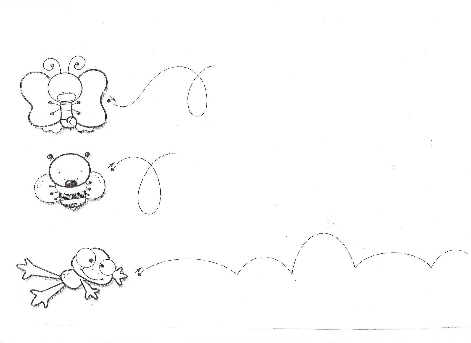 Grafomotricidad22 for Actividades para jardin de infantes para imprimir