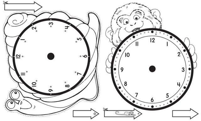 Aprende las horas del reloj - Escuela en la nube