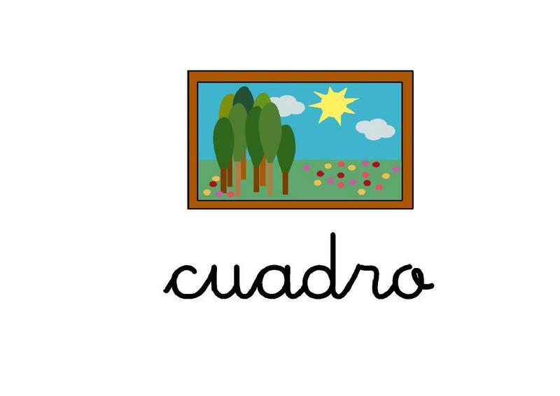 Fichas Con Imágenes Para Trabajar El Vocabulario Letra C