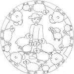 Dibujos para colorear: mandalas