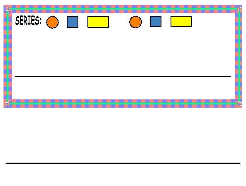 Fichas para imprimir y trabajar las series