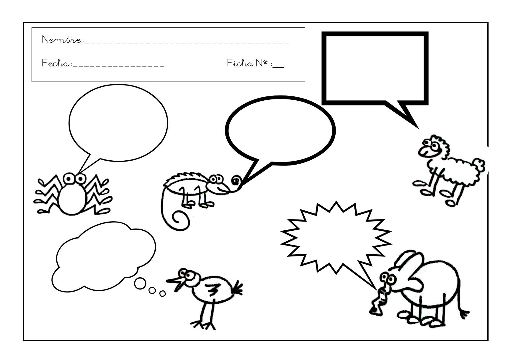 Grafomotricidad Con Vocales. Fichas De Infantil
