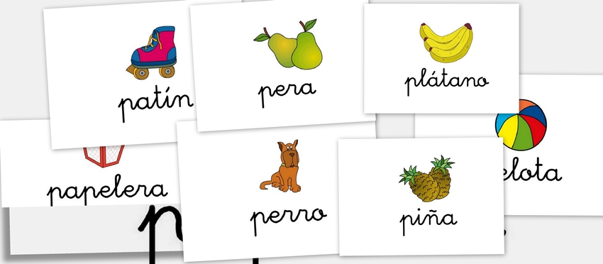 Bits de imágenes para repasar vocabulario. Letra P