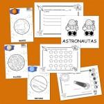 Fichas para colorear y trabajar el sistema Solar