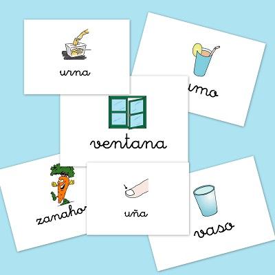 Bits de imágenes para vocabulario