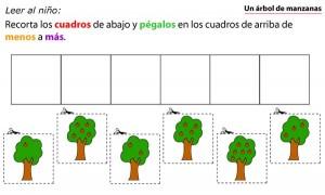 Fichas para imprimir y trabajar en educación infantil