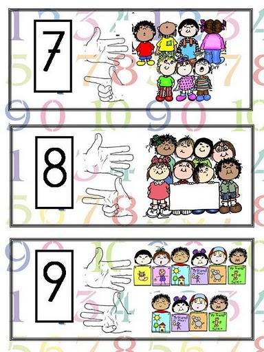 Numeros para contar del 1 al 10