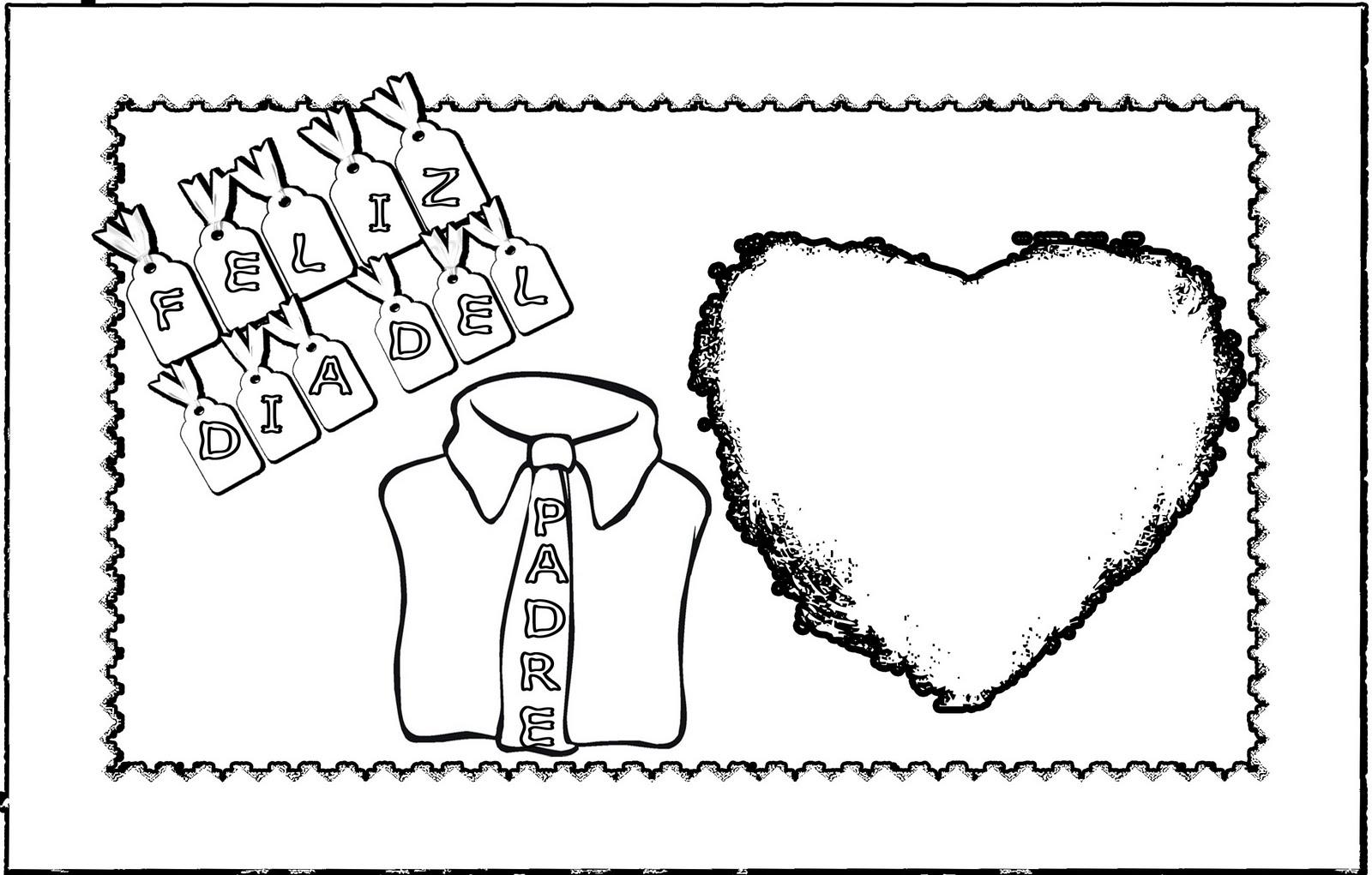 6 dibujos para el Día del Padre - Pequeocio