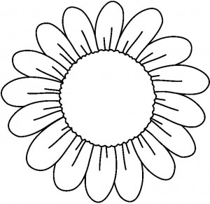Flores Para Colorear Flores De Primavera Para Colorear