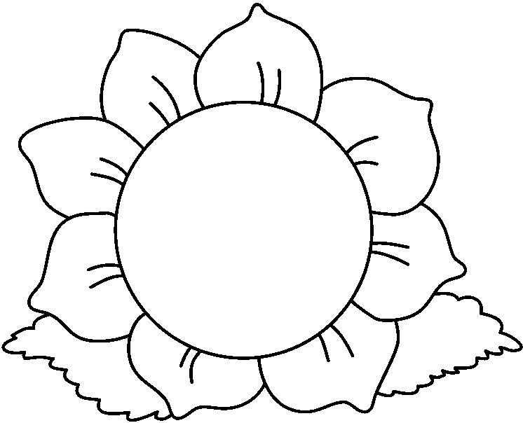 Dibujo De Flor De Cerezo Para Colorear: La Primavera Con Flores Para Colorear