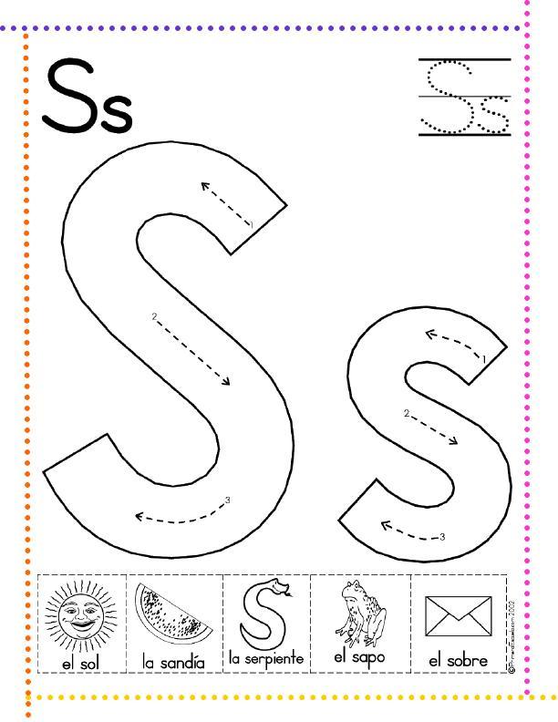 Lectoescritura con las letras del abecedario. Primera parte