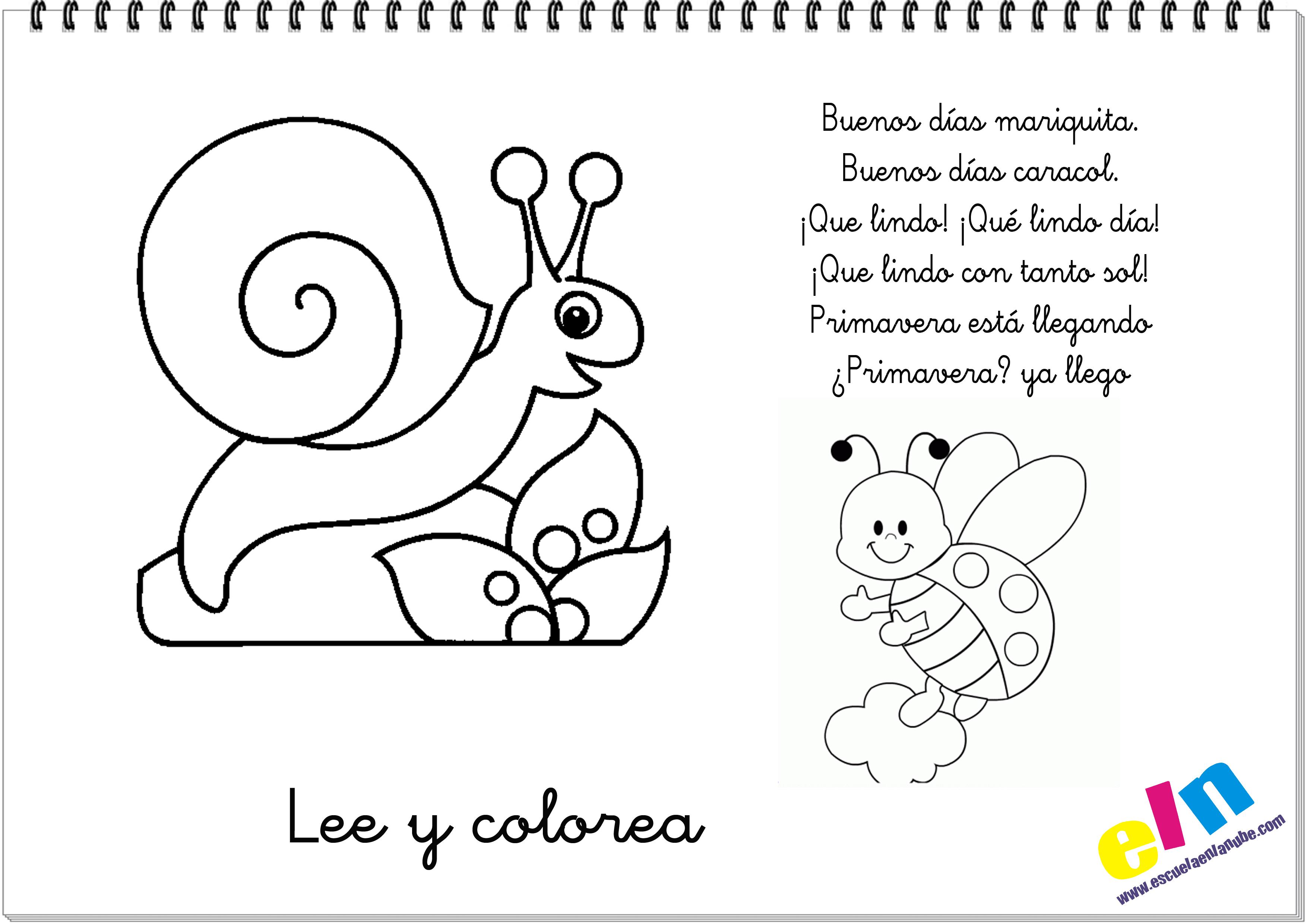 cn imagen para poemas para ninos poemas de te extrano lee y colorea ...