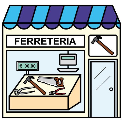 dibujo tienda: