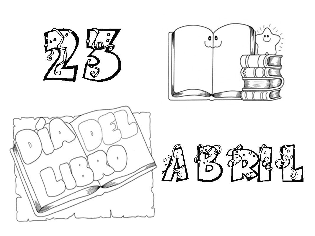 fotos libro abierto colouring pages  page 2