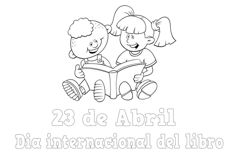 colorear en el dia internacional del libro dia del libro 3 Car Tuning