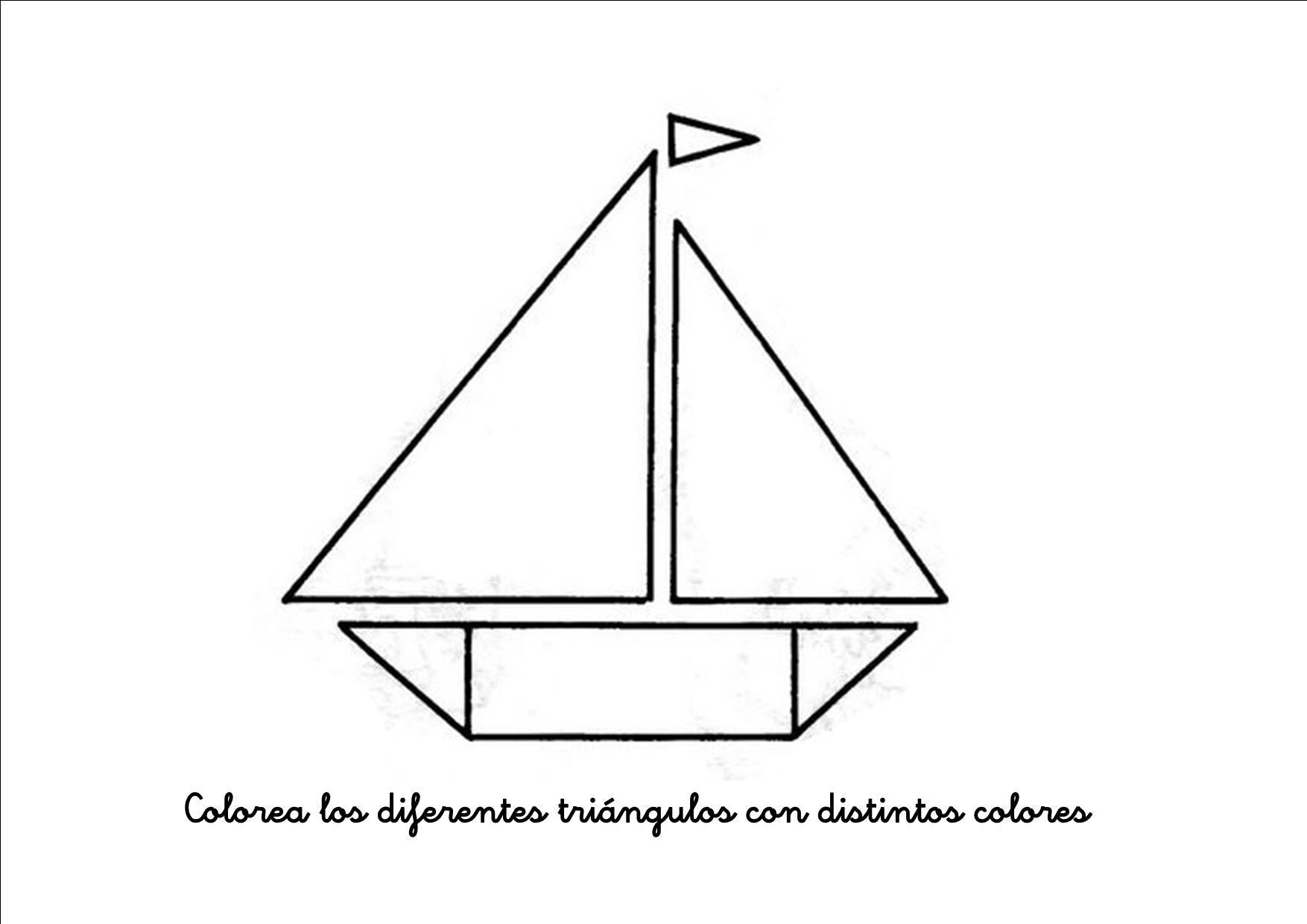 Figuras Geometricas Triangulo Para Ninos