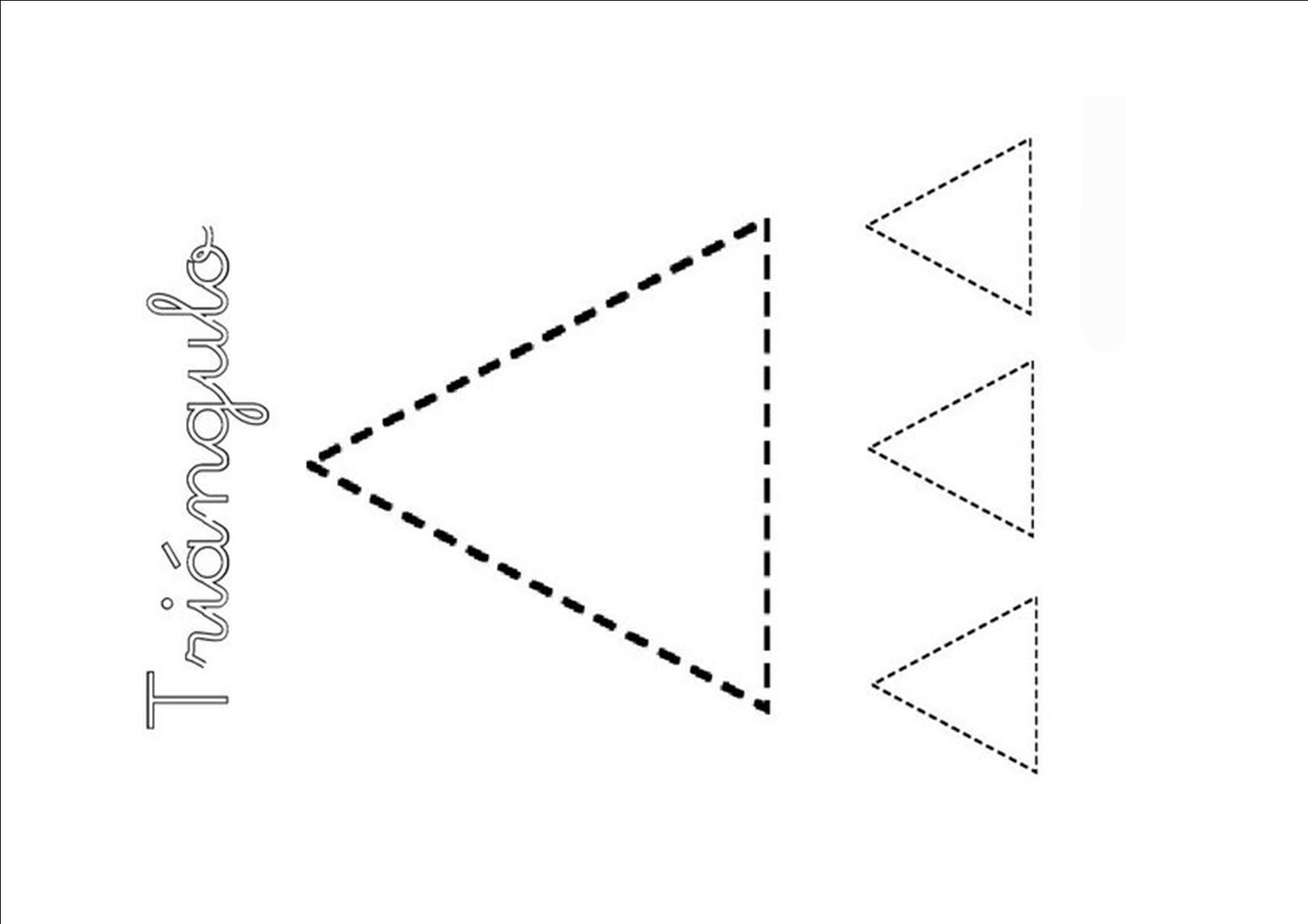 Figuras geométricas: El triángulo