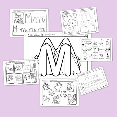 Recursos para el aula: Lectoescritura con la M