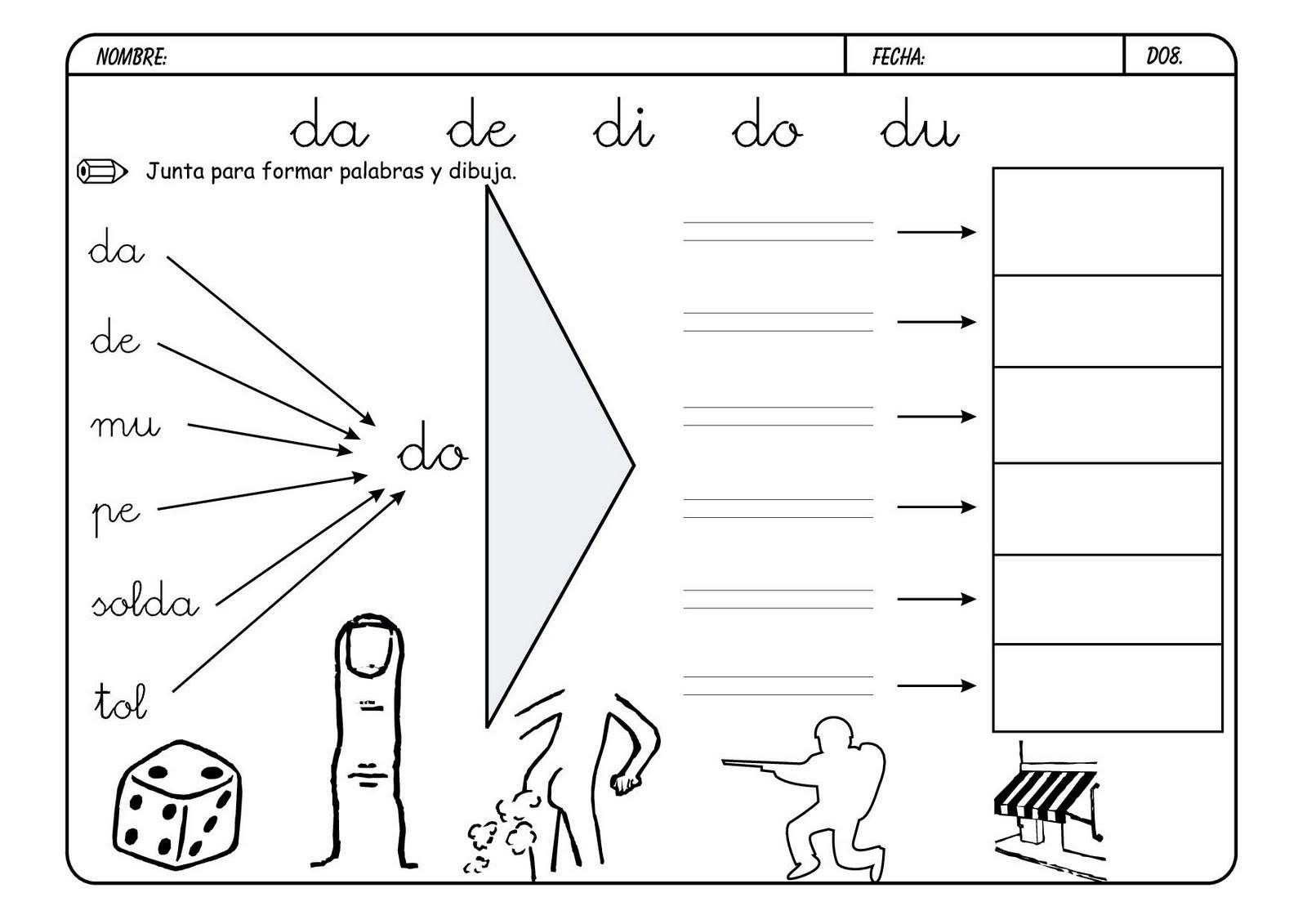 Lectoescritura Con Las Consonantes Escuela En La Nube