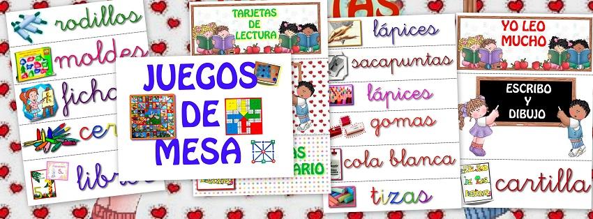 Letreros para clase