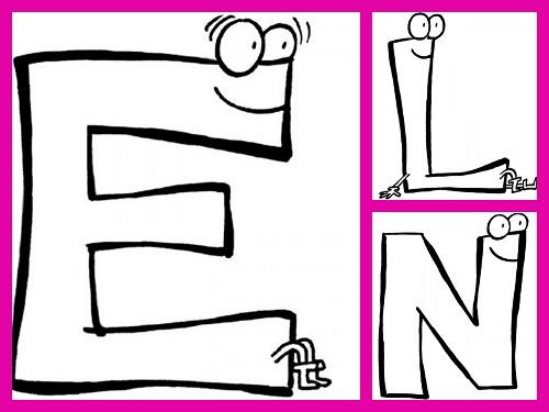 abecedario divertido