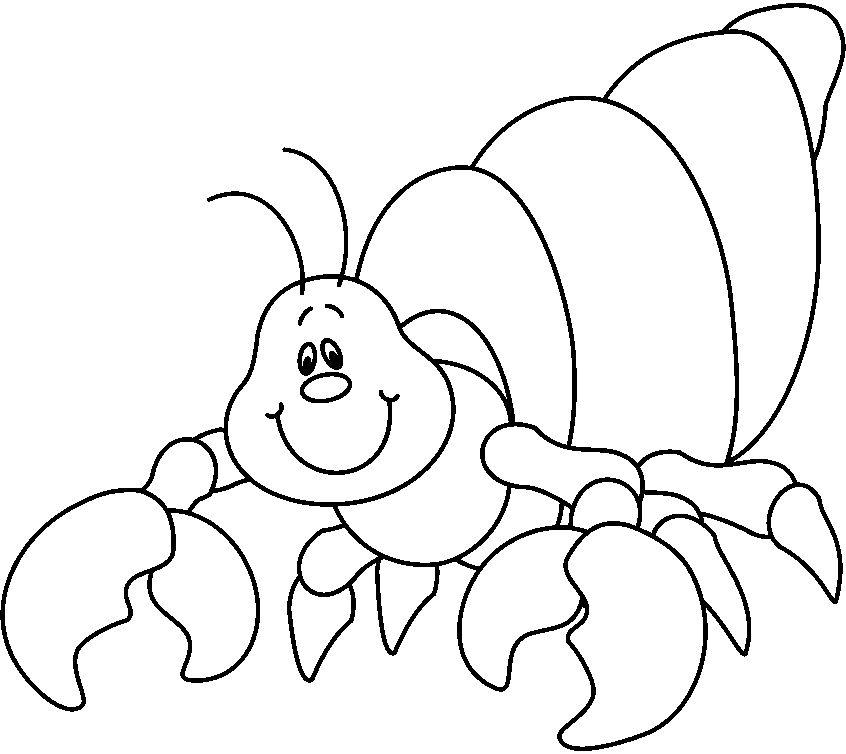 Recursos para el aula: Animales marinos para colorear