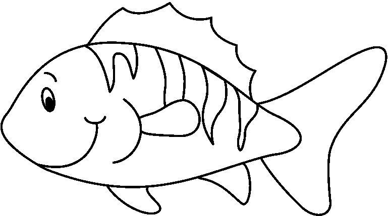 Imagenes De Peces Para Colorear Dibujos Infantiles Dibujos Animados